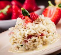 RYŻ Z TRUSKAWKAMI - łatwy przepis na tani deser z ryżu