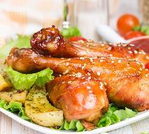 Chrupiące, sezamowe udka z kurczaka z imbirem