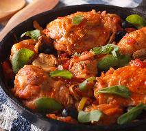 Kurczak w pomidorach: włoskie danie cacciatore dla każdego