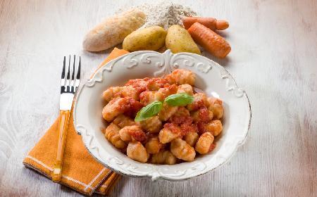 Kloski - kaszubskie kopytka ziemniaczano-marchwiowe