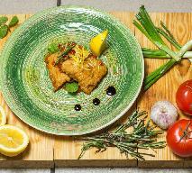 Ryba w delikatnej migdałowo-cytrynowej panierce