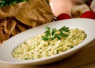 Risotto ze świeżymi ziołami - proste i bardzo aromatyczne