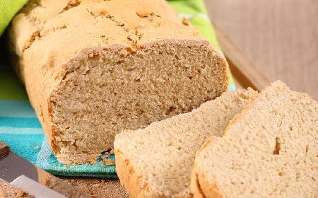 Chleb jaglany -  bezglutenowy, bez nabiału, wegański