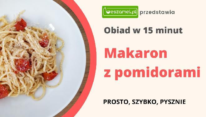 Makaron z pomidorami: danie jednogarnkowe w 15 minut