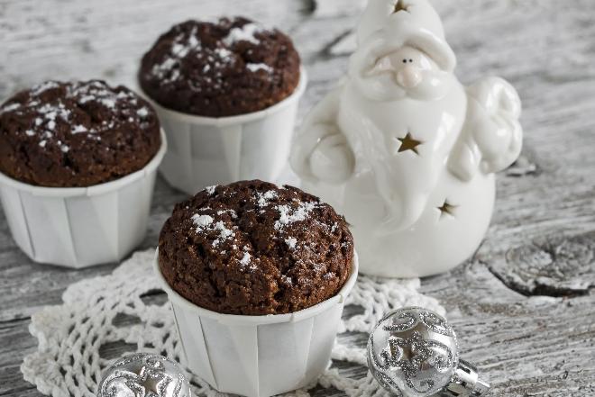 Karnawałowe muffinki: przepis na andrzejki, sylwestra, ostatki i nie tylko