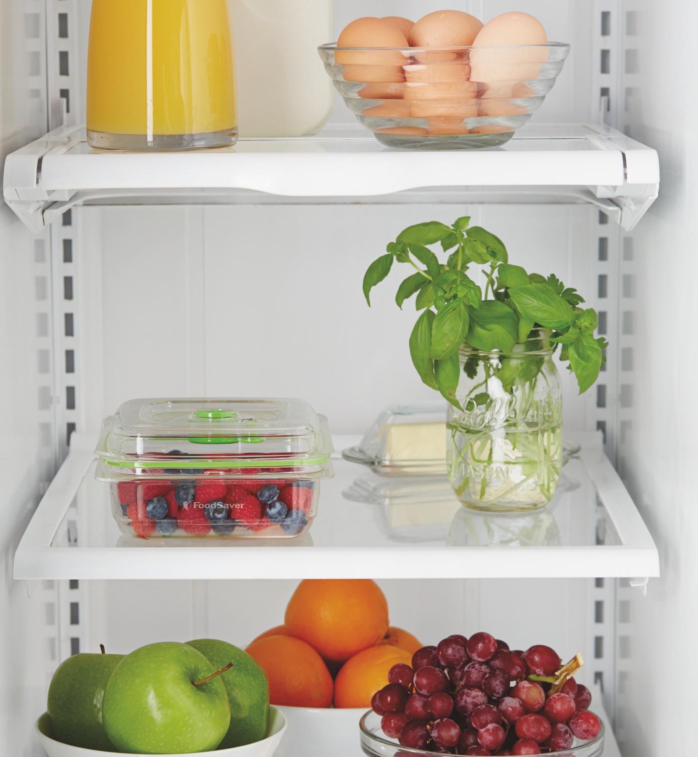 Próżniowe pakowanie wydłuża termin przydatności do spożycia produktów spożywczych
